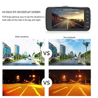 1080p Full Hd 1920x1080, 170° Wide-angle 3.0-inch Lcd Car Video Camera With Built-in G Sensor, Night