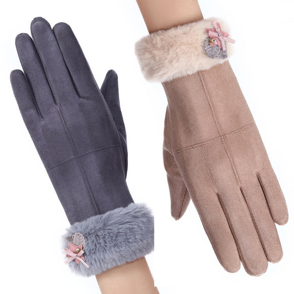 Winter Lady Warm Touch Screen Gloves