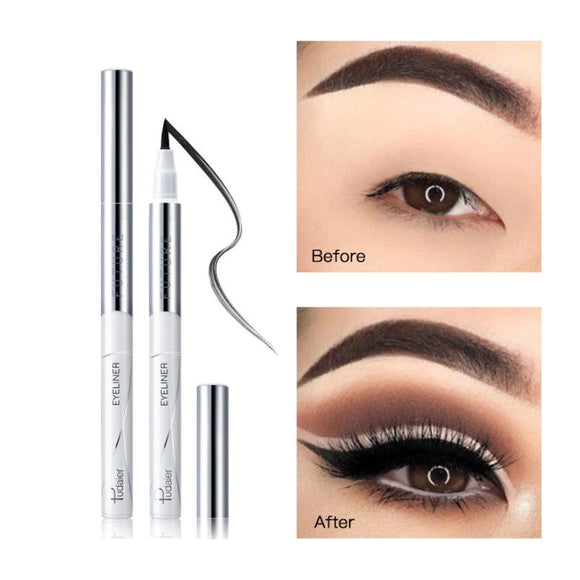 Waterproof Eyeliner Pencil, Long Lasting Liquid Eye Liner Pen