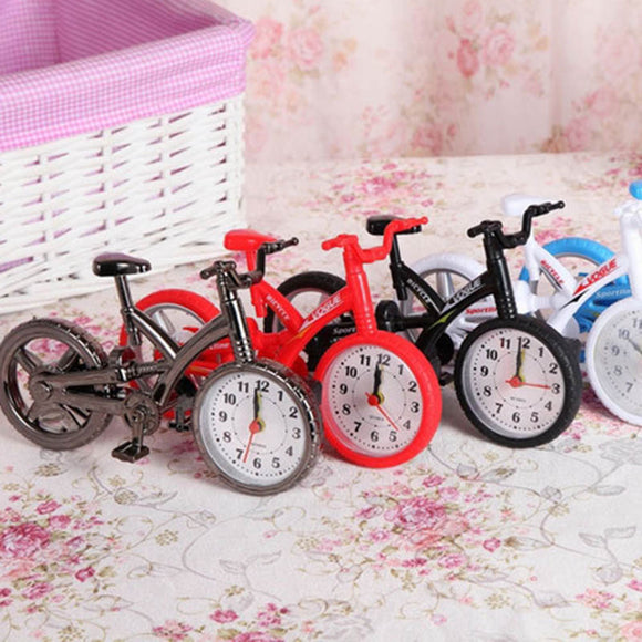 Student's Gift Birthday Gift Bicycle Alarm Clock Home Decorator Crafts