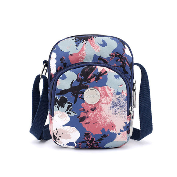 Women Printing Packet Shoulder Diagonal Bag Handbag Canvas Bag