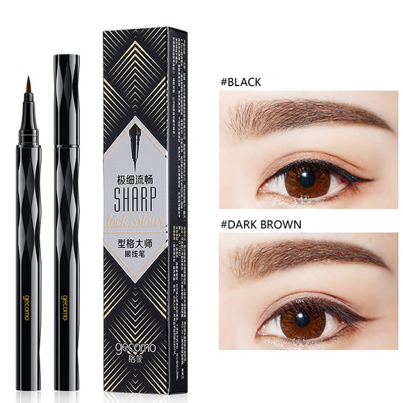 Very Fine Waterproof And Not Dizzy Makeup Eyeliner Pen