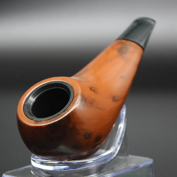 Wood Smoking Pipe Handmade Tobacco Pipe Wood Pipe Classic Bent Pipes Gift Cigarette