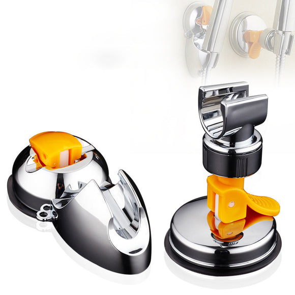 Non Perforated Sprinkler Rack Base Suction Cup Adjustable Shower Support Bathroom Accessories