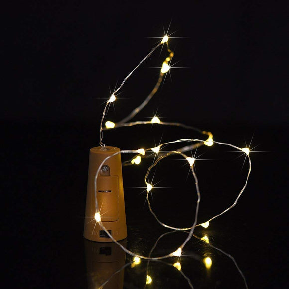 Bottle Cork String Lights for Bottle DIY Party Christmas Halloween And Wedding Decoration