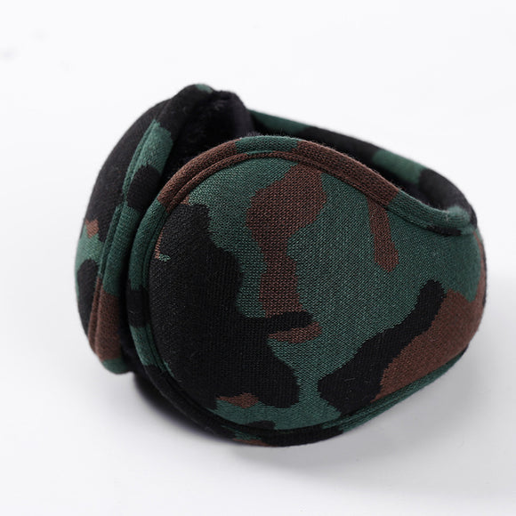 Creative Winter Autumn Keep Warm Foldable Down Cloth Earmuff