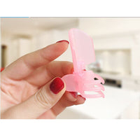 10 Pcs Pack Fashion Pink Manicure Protector