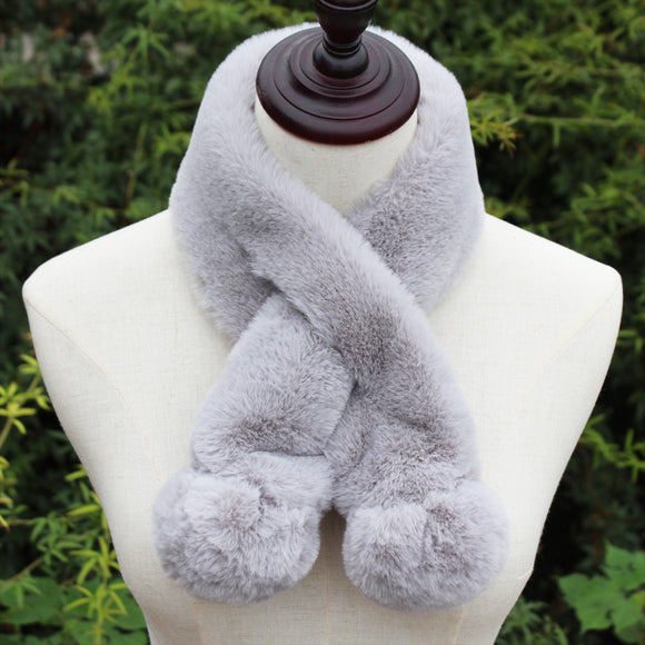 Autumn And Winter Women's Imitation Fur Scarf