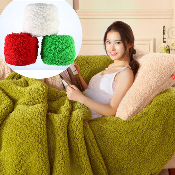 Women Clothing Accessories Coral Fleece Towel Line Scarf Line Thick For Crochet Knitting Crafting