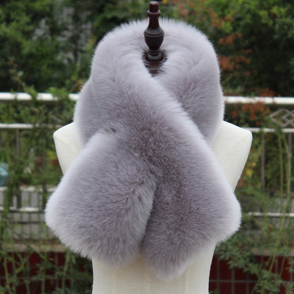 Autumn And Winter Imitation Fur Scarf