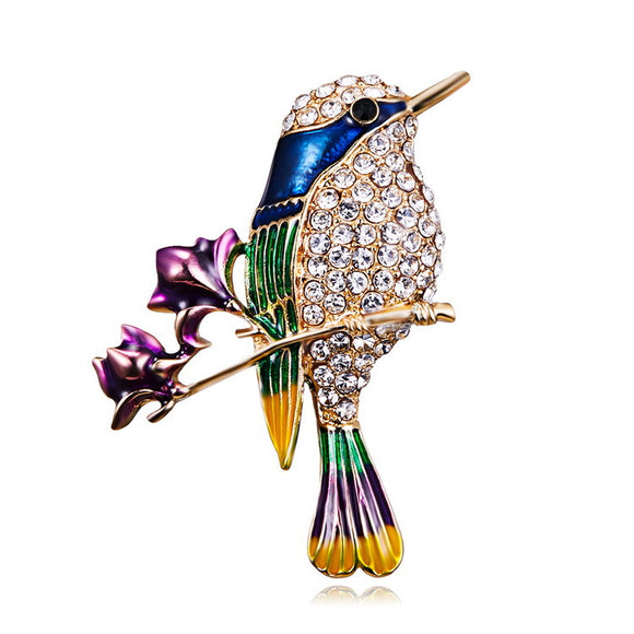 Fashion Animal Brooch Bird Breast Brooch