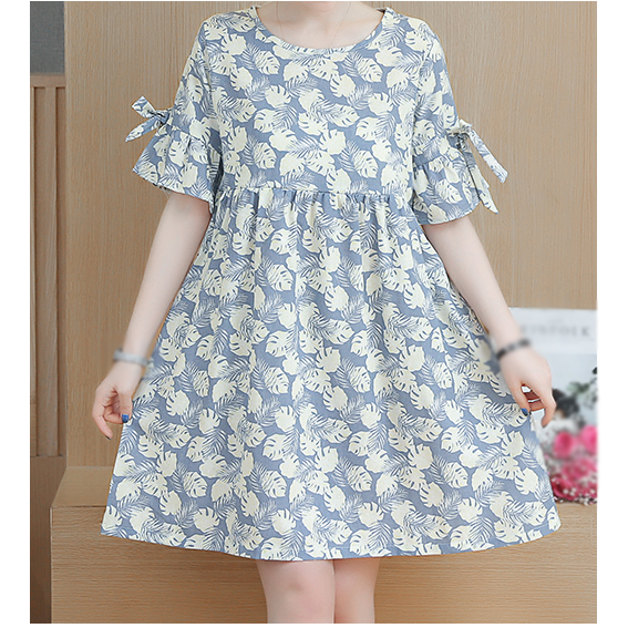 Pregnancy Women Print Dress Mothers Breastfeeding Clothes Maternity Clothing Summer Clothes