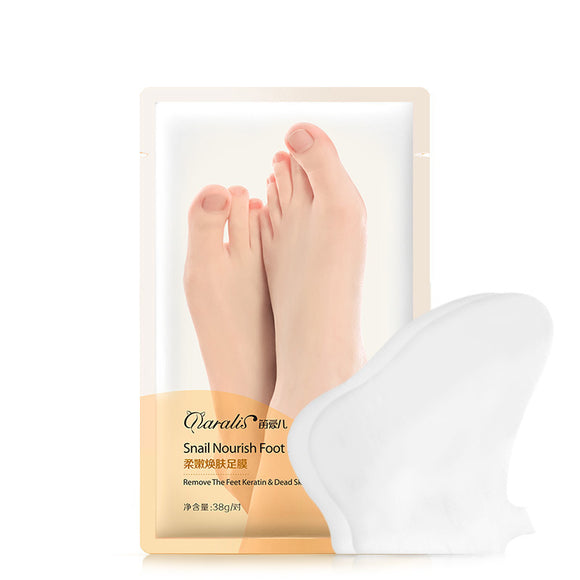 Exfoliate Callus To Protect Dry And Tender White Moisturizing Foot Mask