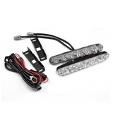 1 Pair Of Drl Automobile Led Driving Lamp 6 Led Dc 12v Fog Lamp Driving Automobile Lamp Car Model Is