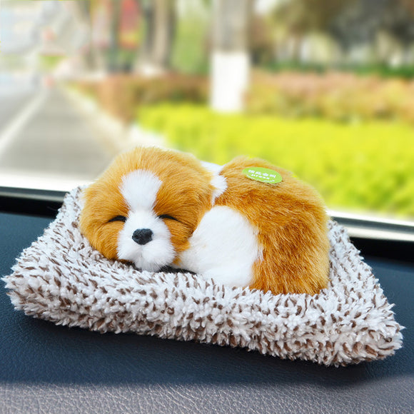 Car Decoration In Addition To Formaldehyde Odor Purification Air Bamboo Charcoal Simulation Dog