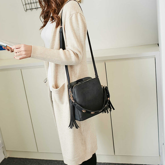 Dual Use Bucket Bag Crossbody Bag  Shoulder Bags