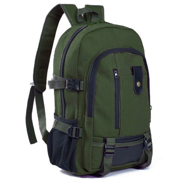 Vintage Leisure Travel Canvas Computer Backpack