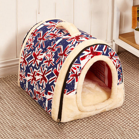 Dual-use Removable Multicolor Kennel Cat Nest