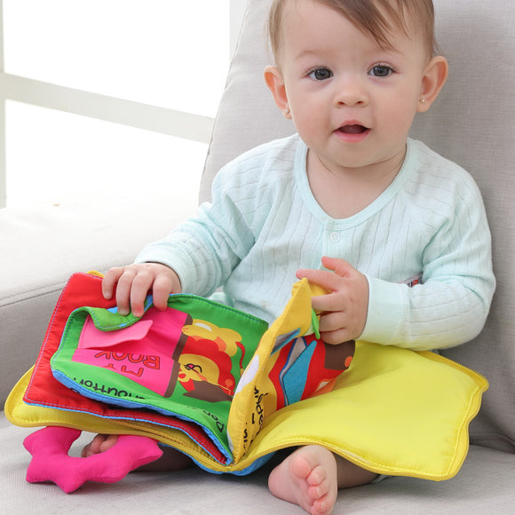 Baby Tear Not Rotten Sound Paper Early Teaching Stereo Cloth Books