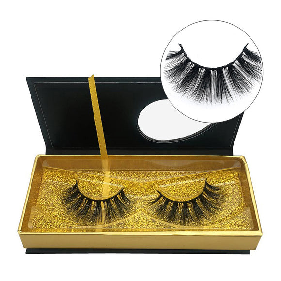 New Package For A Pair Of 3d Mink False Eyelashes