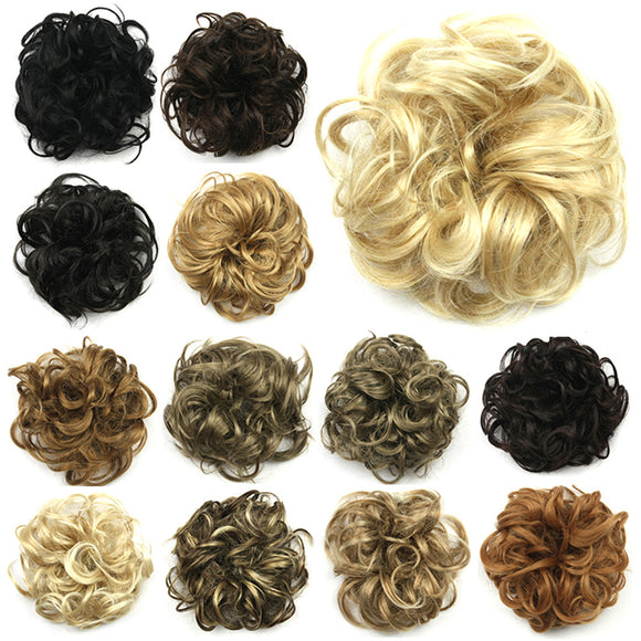 Fashion Synthetic Chignon Hair Ring Wig Accessories