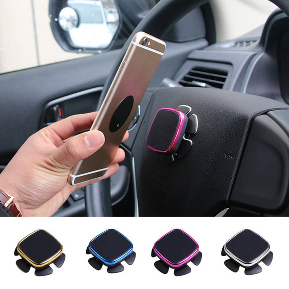 Universal Car Steering Wheel 360 Degree Rotating Magnetic Phone Holder Bracket Mobile Phone holder