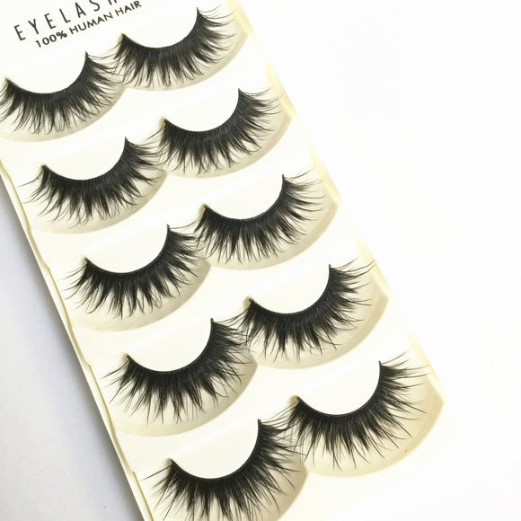 3-dimensional Multi-layer Encryption 5 Pairs Of False Eyelashes