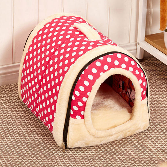 Dual-use Removable Spot Style Kennel Cat Nest