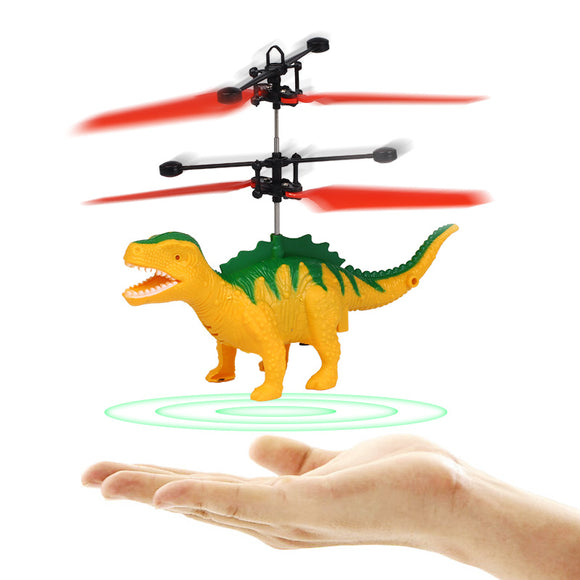 Induction Suspended Dinosaur Aircraft Child Flying Dinosaur Toy