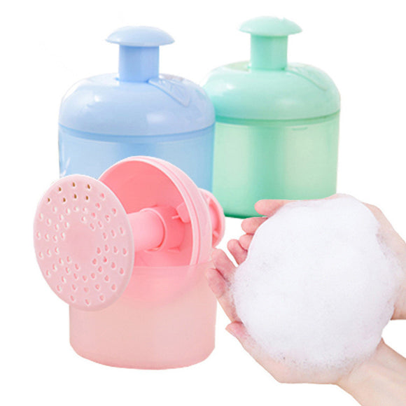 3 Colors Available Deep Clean Facial Cleanser Foaming up Tool