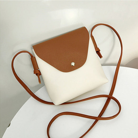 Mini Slant Cross Color Leisure Bag
