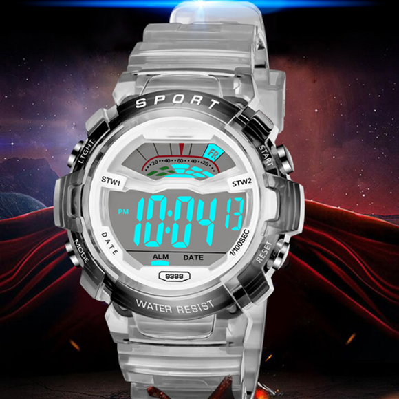 Fashion Multi-Function Electronic Watch Waterproof Led Sports Watch