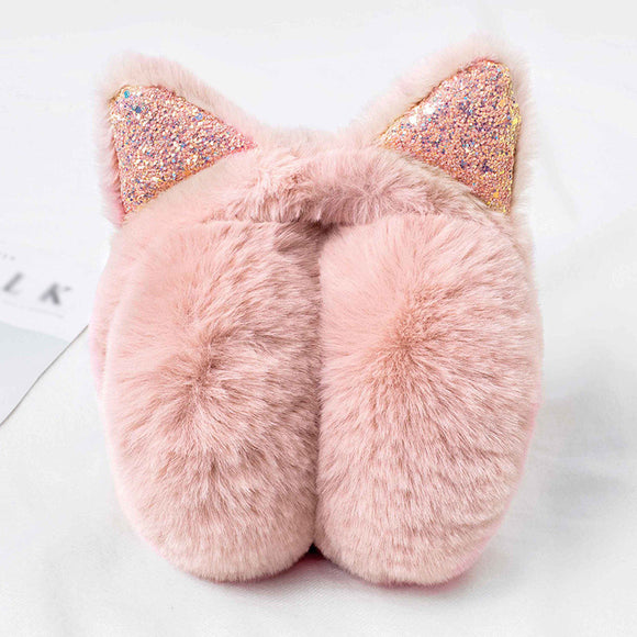 Women Men Autumn Winter Cat's Ear Keep Warm Music Outdoor Earmuffs