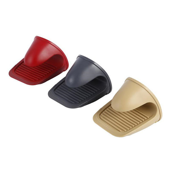 1pcs  Silicone High Temperature Oven Microwave Oven Special Hand Clip For Baking