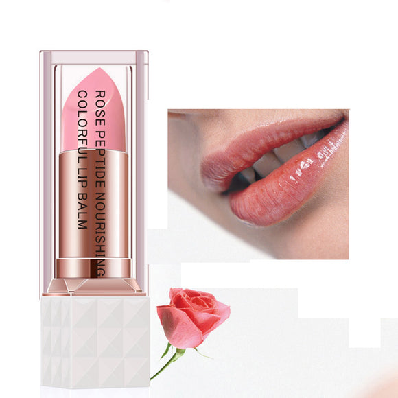 Rose Peptide Nourishing Lip Balm Anti Aging Antifreeze Anti-chapped Repair Damage Lip