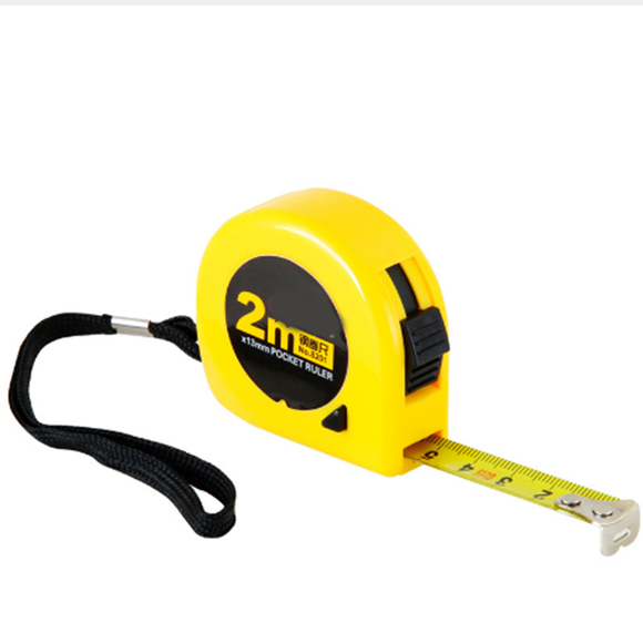 2m Steel Tape Measure Woodworking Mini Portable Multi-function High-precision Measure Tool