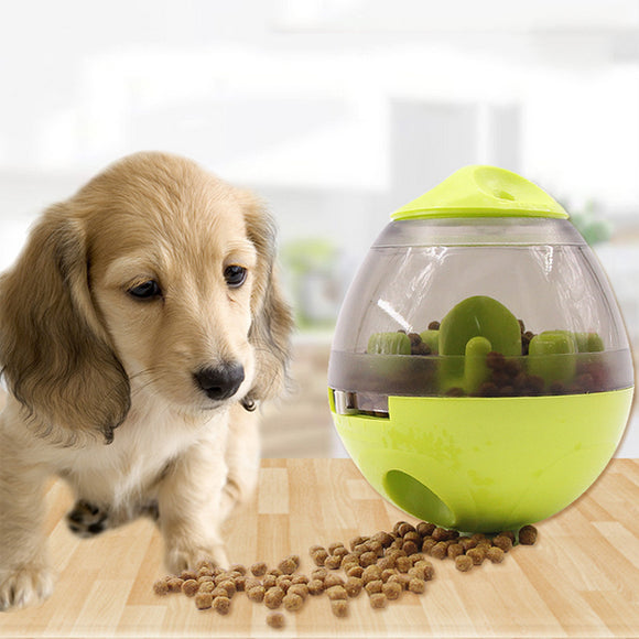 Pet Tumbler Leaking Food Ball Puzzle Training Toy