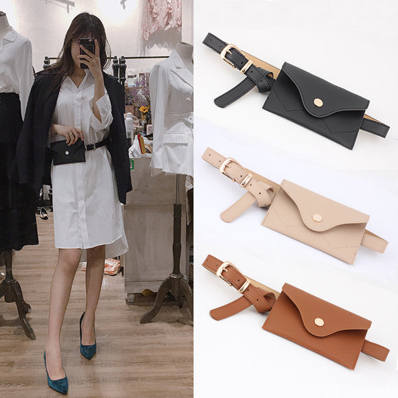 New 2018 Autumn Solid Color Belt Women Fashion Waist Belt