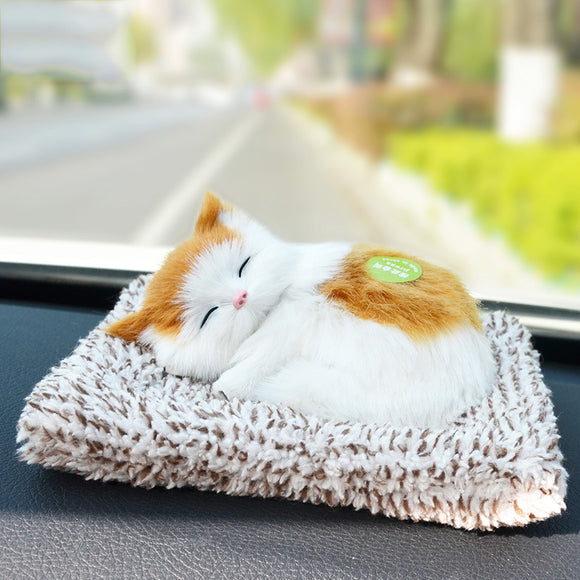 Creative Simulation Will Be Called Charcoal Cat Car Home Decoration To Purify The Air