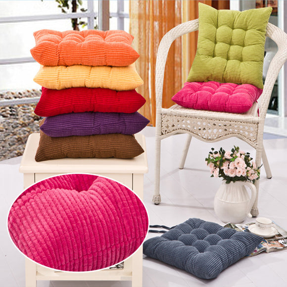 40*40cm Square Corn Seat Cushion Home Winter Warm Breathable Cushion