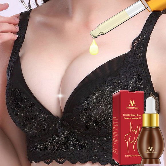 Lavender Beauty Breast Enhancer Massage Oil Breast Enlargement Breast Lifting Size Firming