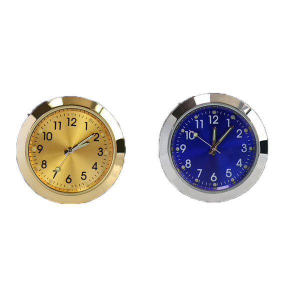 Car watch decoration jewelry outlet perfume bottle aromatherapy supplies quartz clock car perfume