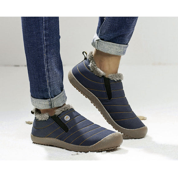 Unisex Waterproof Warm Cotton Shoes Snow Boots