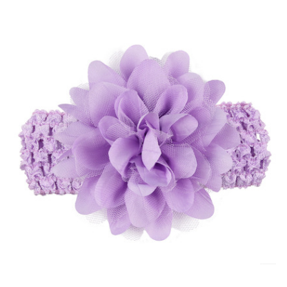 NEER HairBands Floral For Girls Hot Selling Kids Headband Baby Girls Flower Headband Lace Bow