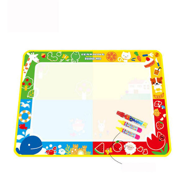 Magic Mat Kids Toys Large Water Drawing Mat Toddlers Painting Board Writing Mats for Boys Girls