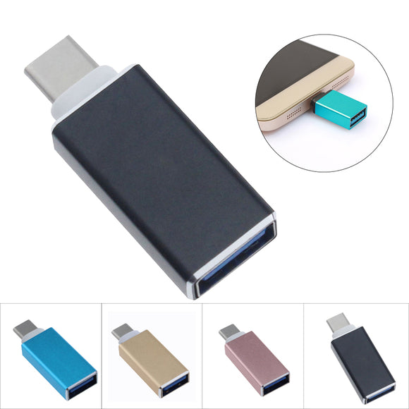 Type-C To USB OTG Mini Adapter 3.0 Converte For Samsung Galaxy Note8