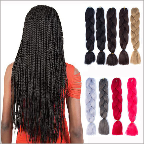 Jumbo Braids hair Synthetic Braiding Hair Extension 1piece/lot Crochet Expression Fiber