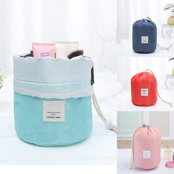 Waterproof Large Capacity Drawstring Makeup Bag Wash Gargle Bag