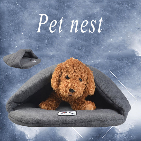 Pet Cat Dog Sleeping Bag Warm Pet Nest
