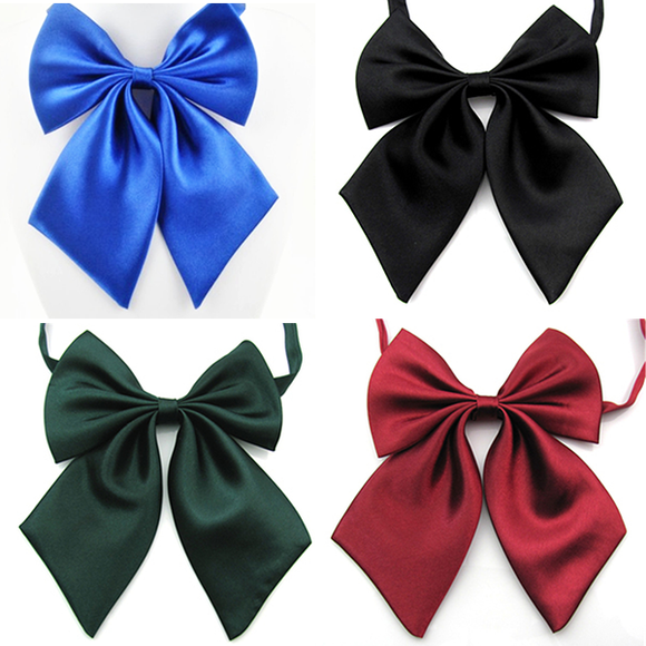 Formal Commercial Bow Tie Solid Color Wedding Bow Ties For Women Formal Business